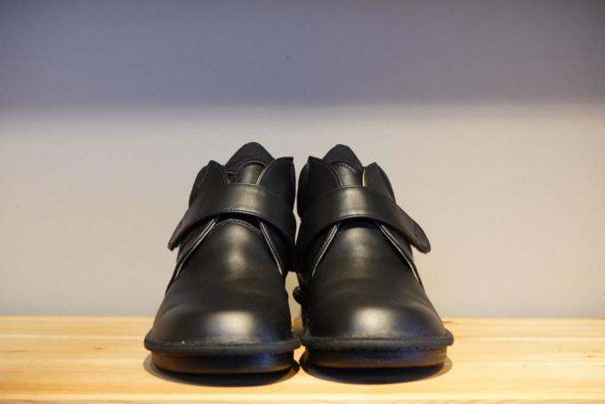 825:黒・コンフォートシューズ(女性用)
