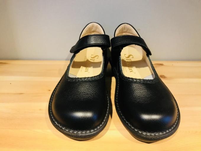 840:黒・コンフォートシューズ(女性用)
